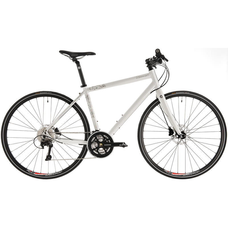 Shadowlands Bicycle Pearl White/Silver