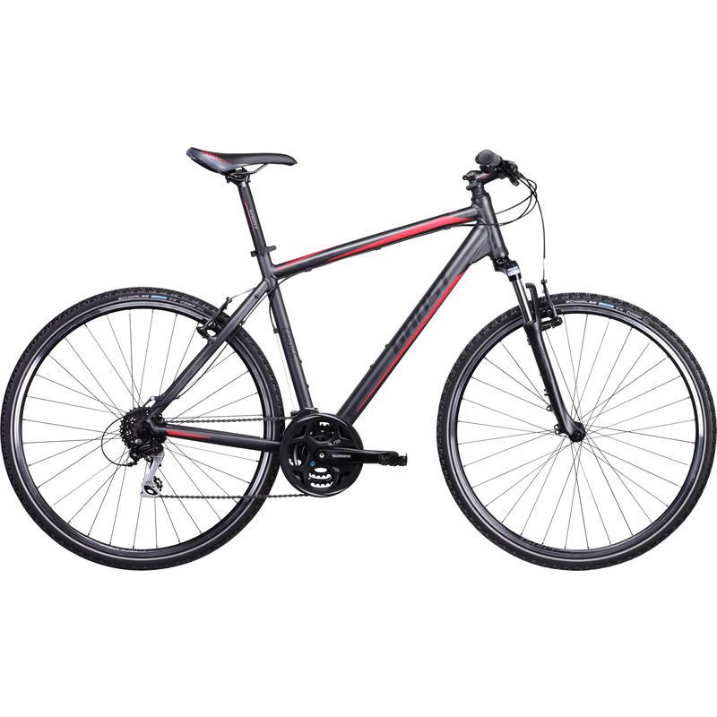 Cross 1300 Bicycle Grey/Black