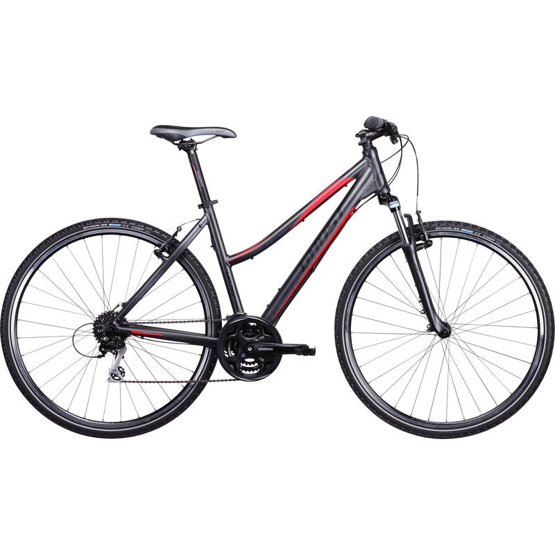 Cross 1300 Bicycle Grey/Black