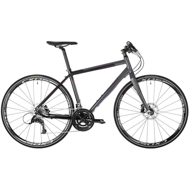 Adanac 500 Bicycle Black/Grey