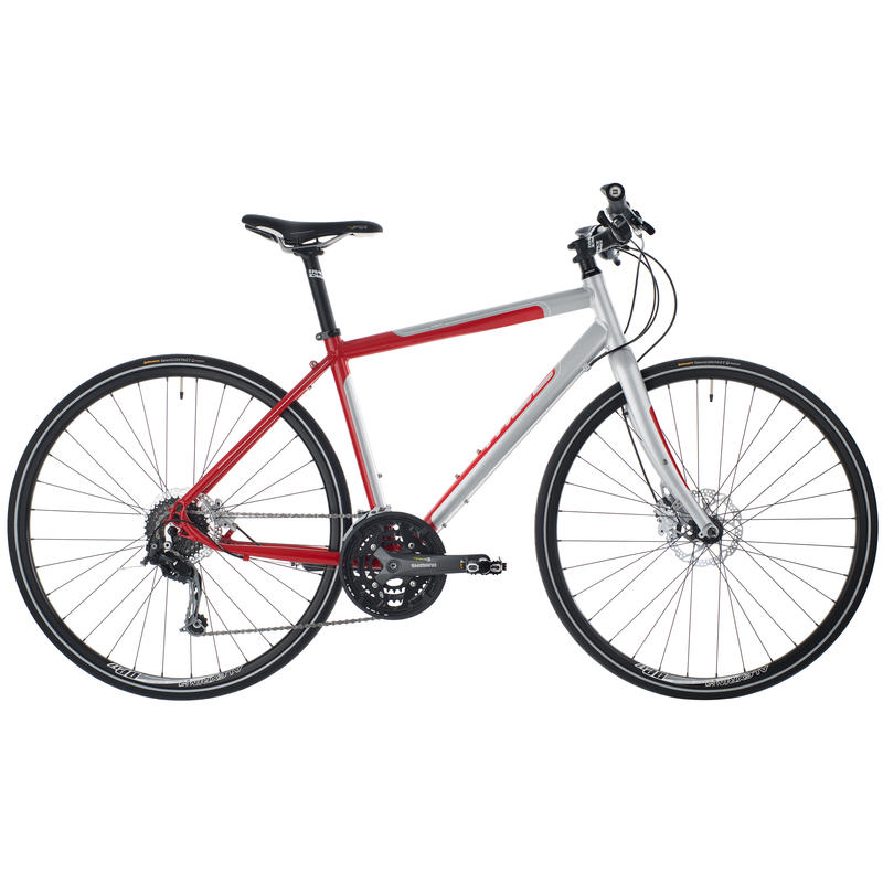 Silhouette Bicycle Red/Silver