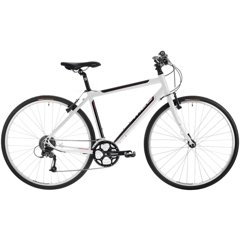 Midtown Bicycle Pearl White/Gloss Black