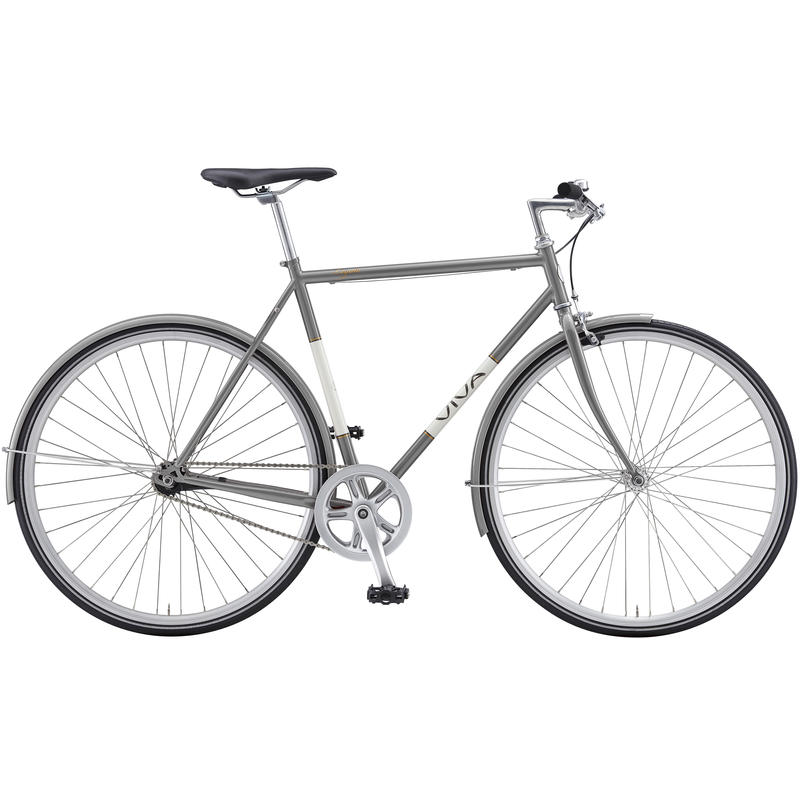 Legato Bicycle Silver Grey