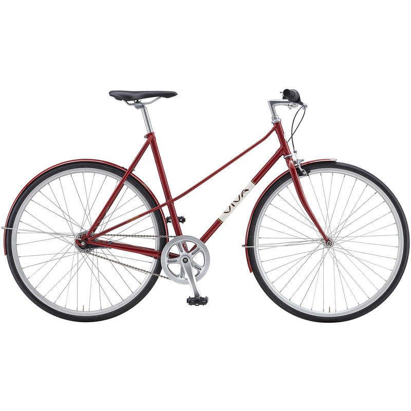 Legato Mixte Bicycle Dark Red