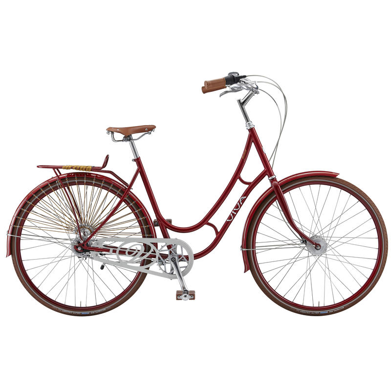 Vélo Juliett Classic Rouge foncé