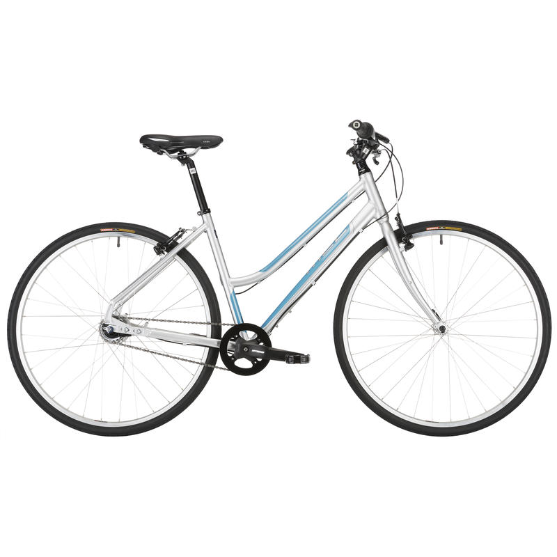 Mixed Tape Bicycle Silver/Blue