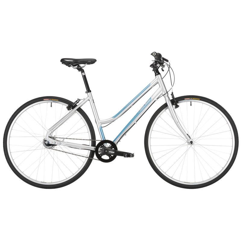 Vélo Mixed Tape Argent/Bleu