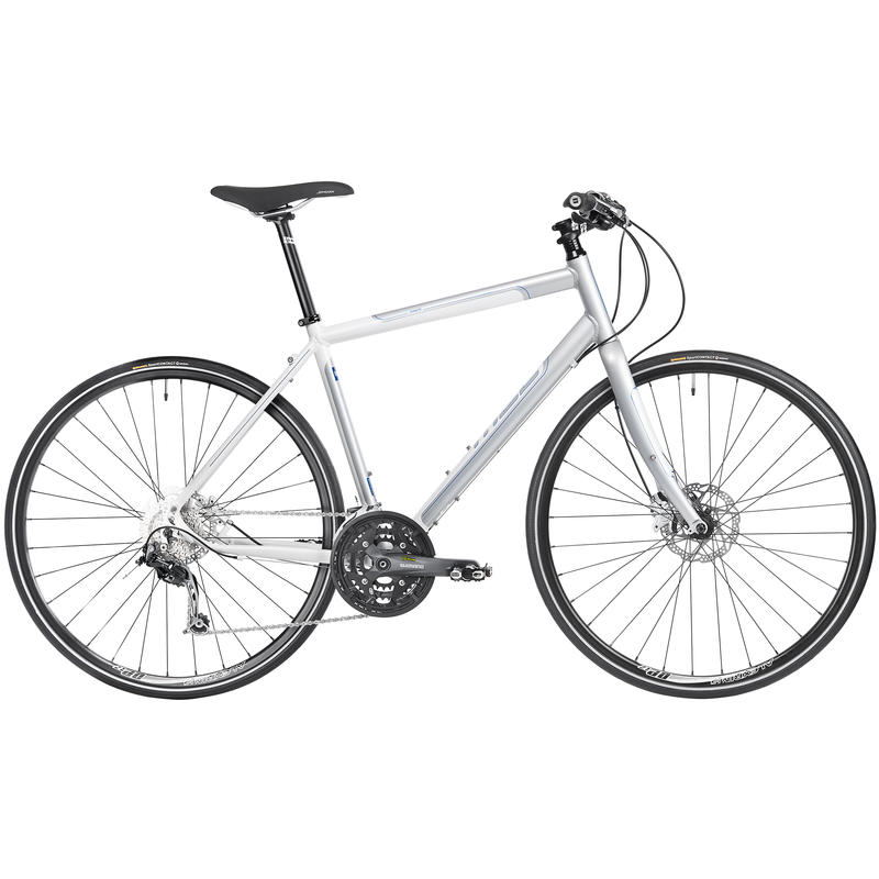 Silhouette Bicycle White/Silver
