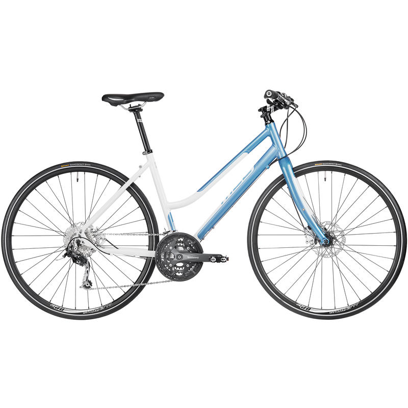 Silhouette Bicycle White/Blue