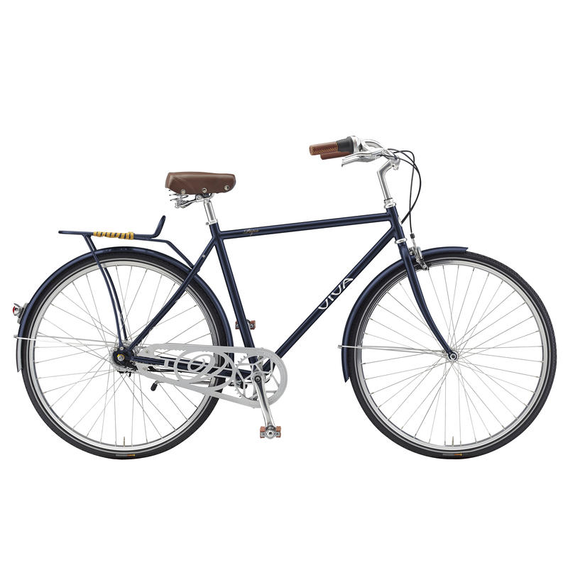 Papa Steel Classic Bicycle (7 Speed) Blue