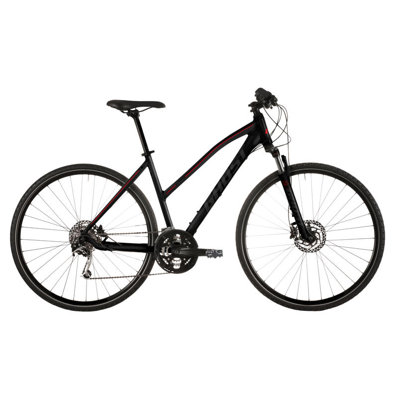 Panamao X 5 Bicycle Black/Red
