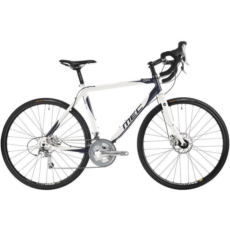 Vélo Côte Blanc perle/Gris