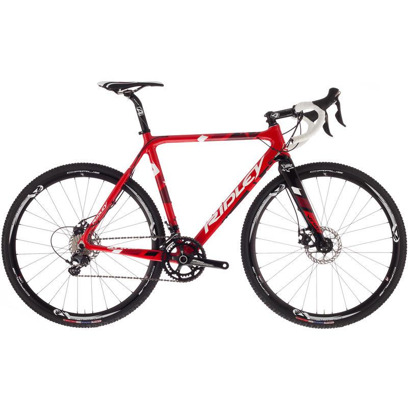 Vélo X-Fire 10 avec freins à disque Rouge/Blanc