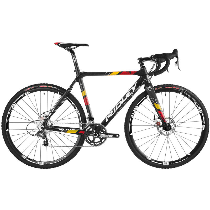X-Fire 15 Disc Bicycle Black/Red