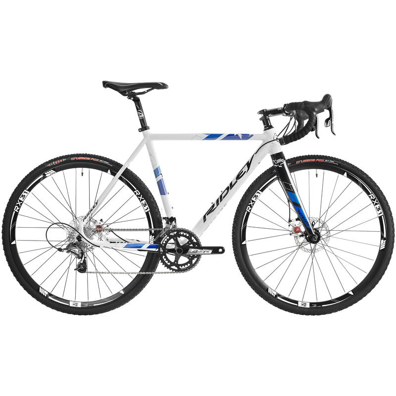 X-Ride 15 Disc White/Blue