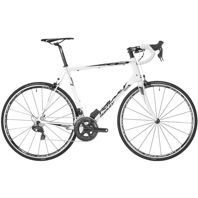 Helium CR10 Di2 Road Bicycle White/Black