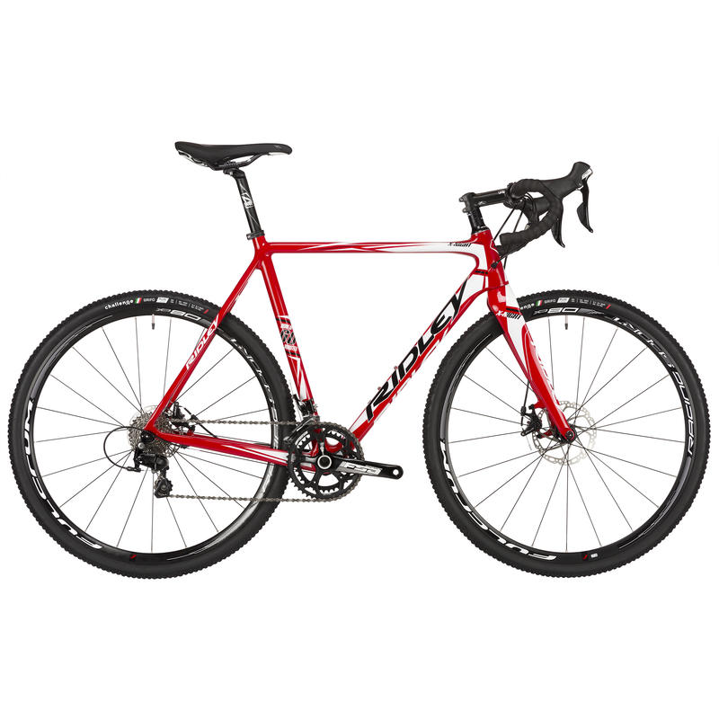 X-Night 60 Disc Bicycle Red/Black