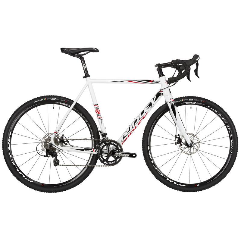X-Ride 30 Disc Bicycle White/Black