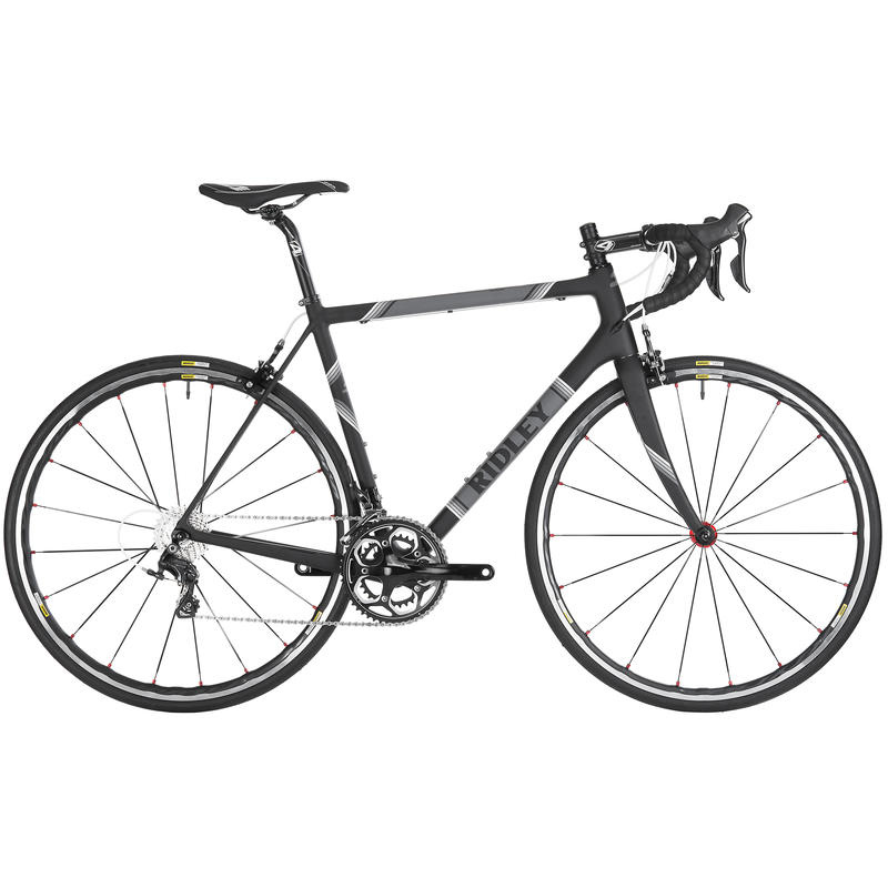 Helium CR40 Road Bicycle Black/Grey
