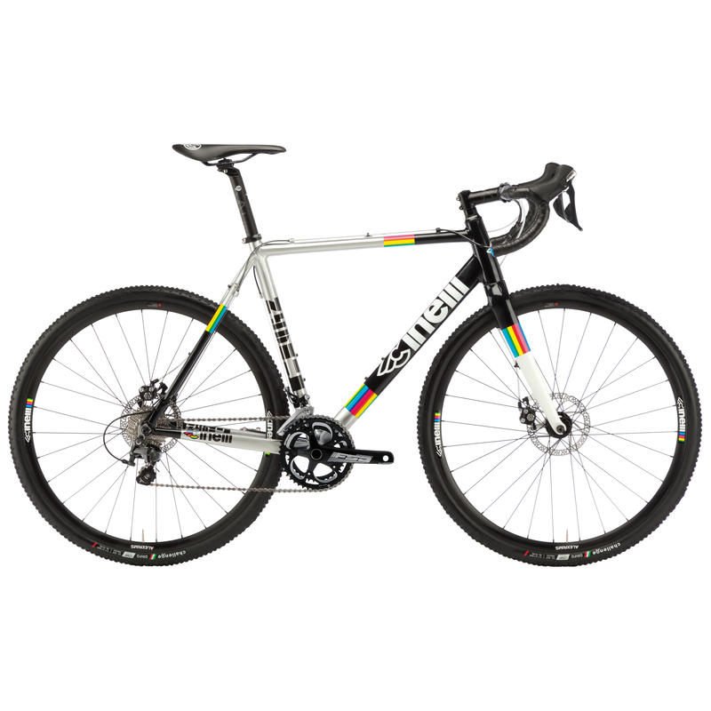 Zydeco Cross Disc 105 Bicycle Silver/Black