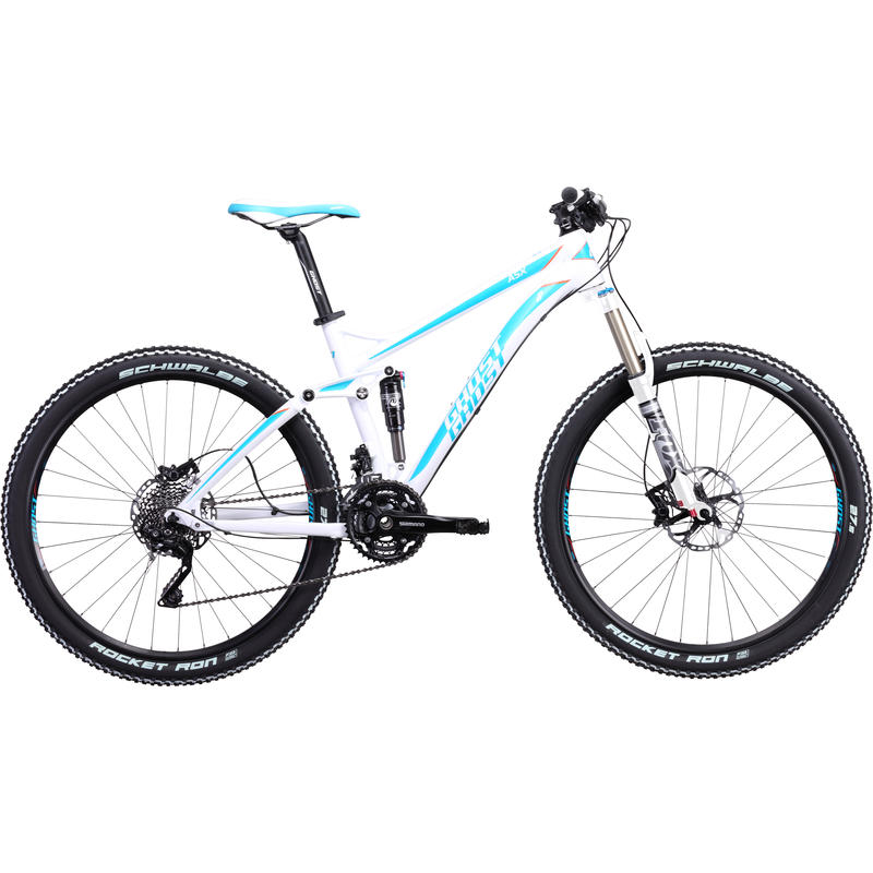 Miss ASX Bicycle White/Turquoise