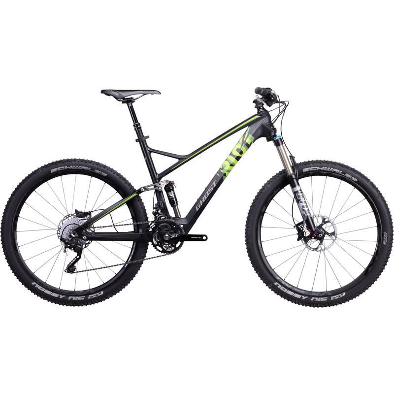 AMR Riot Lector 7 Bicycle Black/Green
