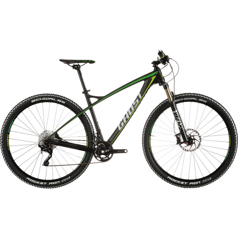 HTX 5 LC Bicycle Black/Green