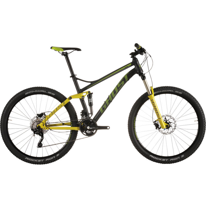 Kato FS 3 Bicycle Black/Lime Green