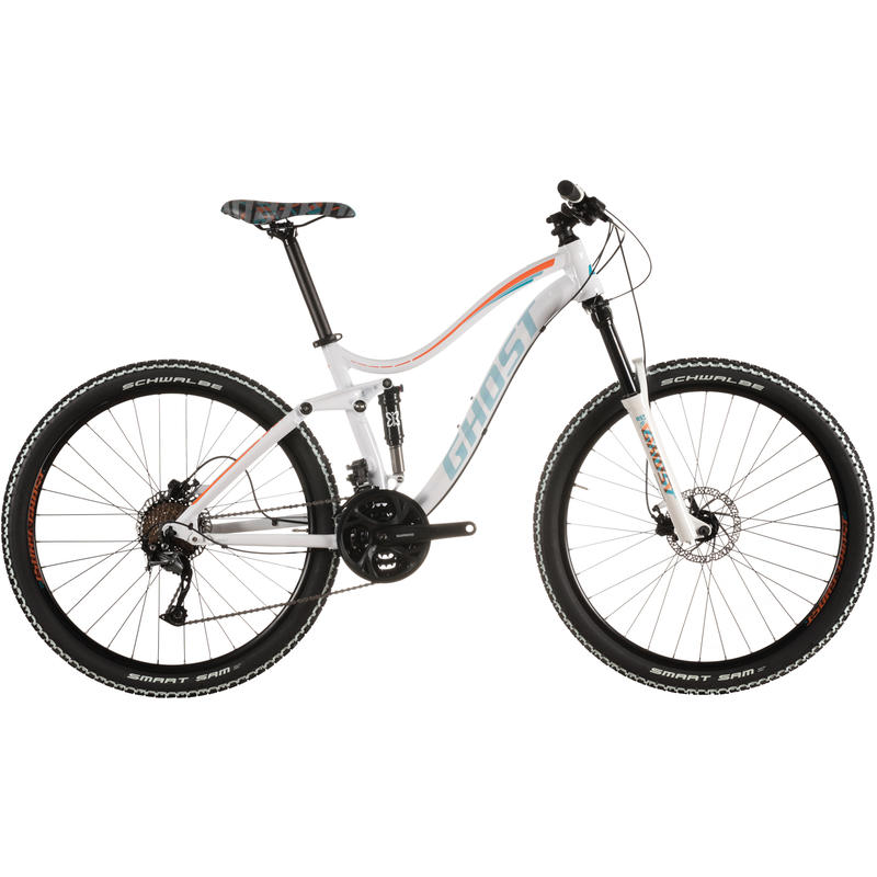 Vélo Lanao FS 2 Blanc/Turquoise