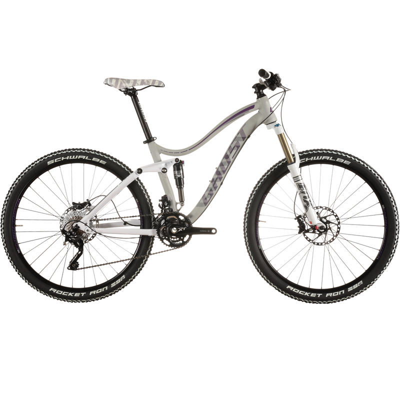 Lanao FS 7 Bicycle Grey/White