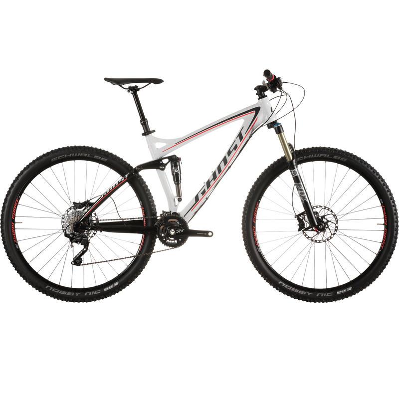 AMR LT 7 Bicycle White/Black