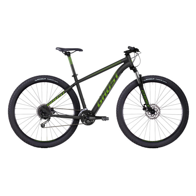 Tacana 3 Bicycle Black/Green