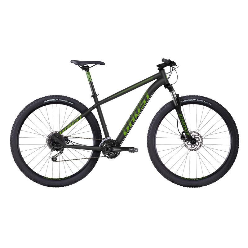 Vélo Tacana 3 Noir/Vert