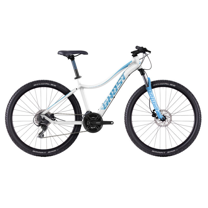 Lanao 2 Bicycle White/Blue
