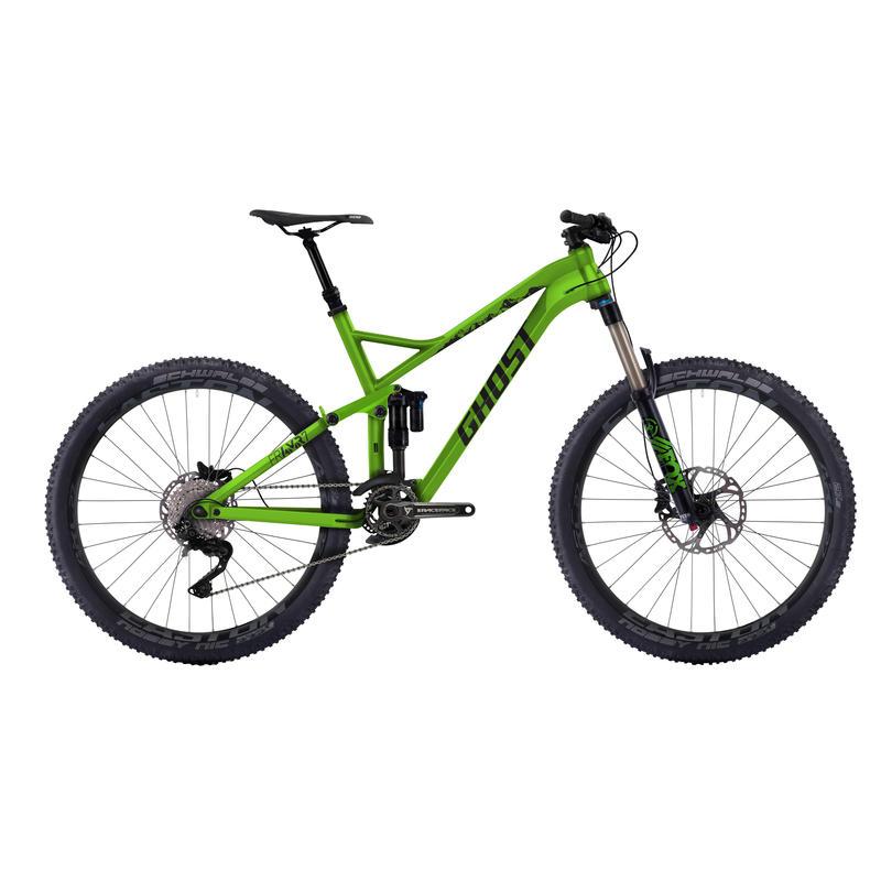Framr 7 Bicycle Green/Black