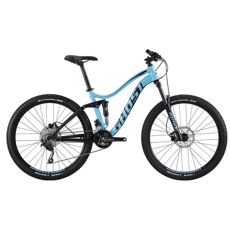 Vélo Lanao FS 2 Bleu/Noir