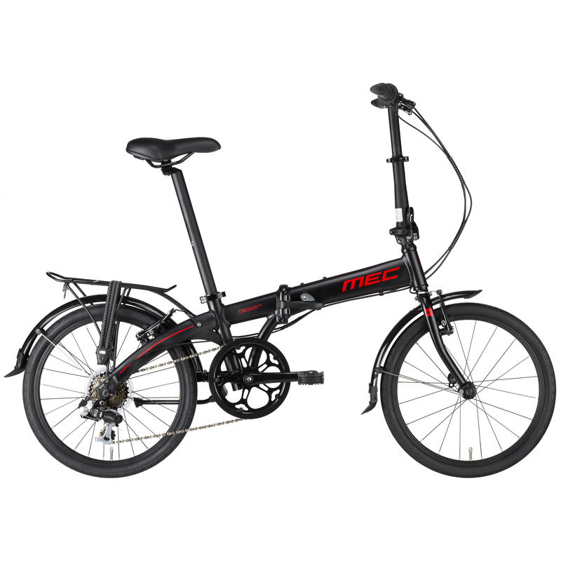 Origami LTD Folding Bicycle Black