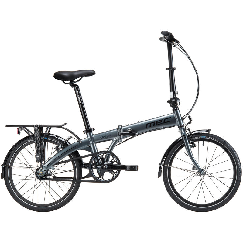 Vélo Origami Gris