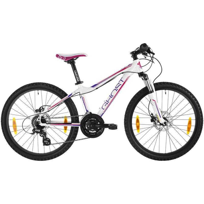 Powerkid 24 Bicycle (2013) White/Purple