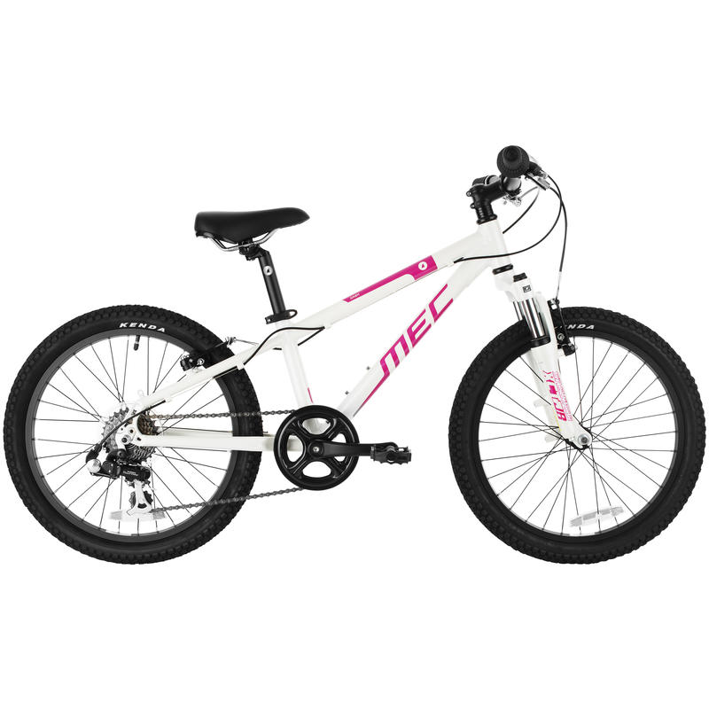 Dash Bicycle Pearl White/Pink Punch