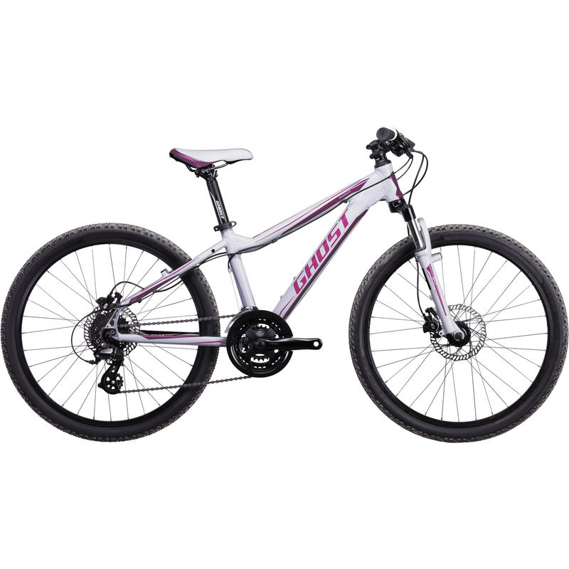 Powerkid 24 Bicycle (2014) White/Pink