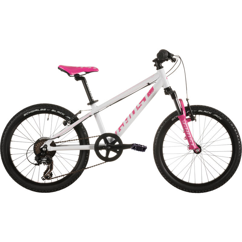 Powerkid 20 Bicycle White/Pink