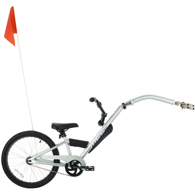 Lift Trailer Bicycle Silver/White