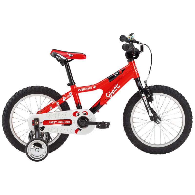 Powerkid 16 Bicycle Red