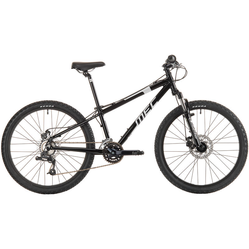 Ace Bicycle Gloss Black/Silver