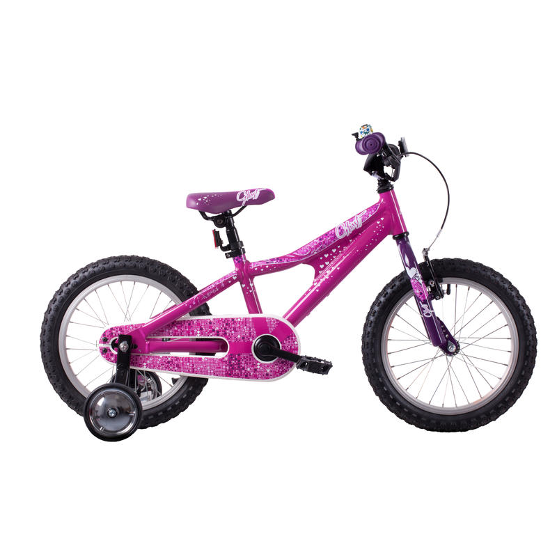 Powerkid 16 Bicycle Pink/White