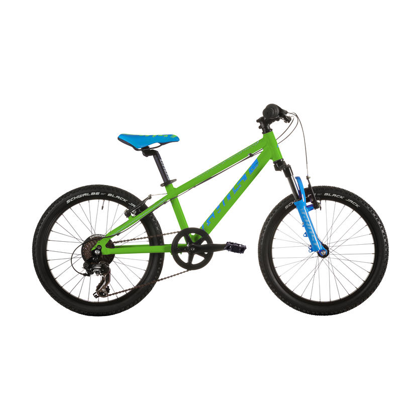 Powerkid 20 Bicycle Green/Cyan