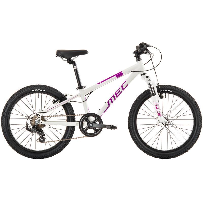 Vélo Dash Blanc perle/Baies