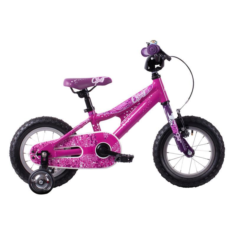 Vélo Powerkid 12 Noir/Rose