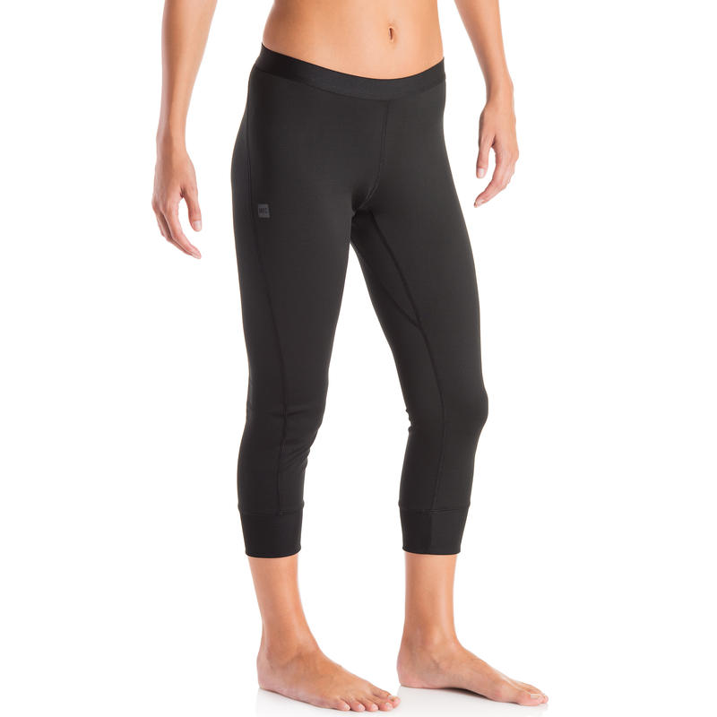 T2 Boot Cut Long Johns Black